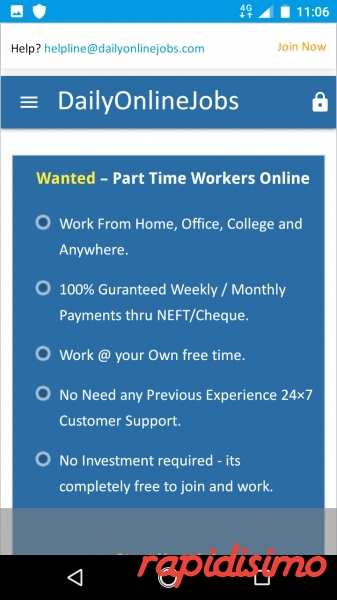 We are Hiring-Earn Rs.15000/- per month -simple co